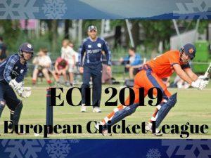 ECL cricket league