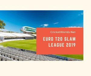 euro t20 slam league squad