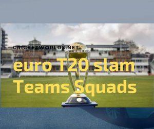 2019 Euro T20 Slam