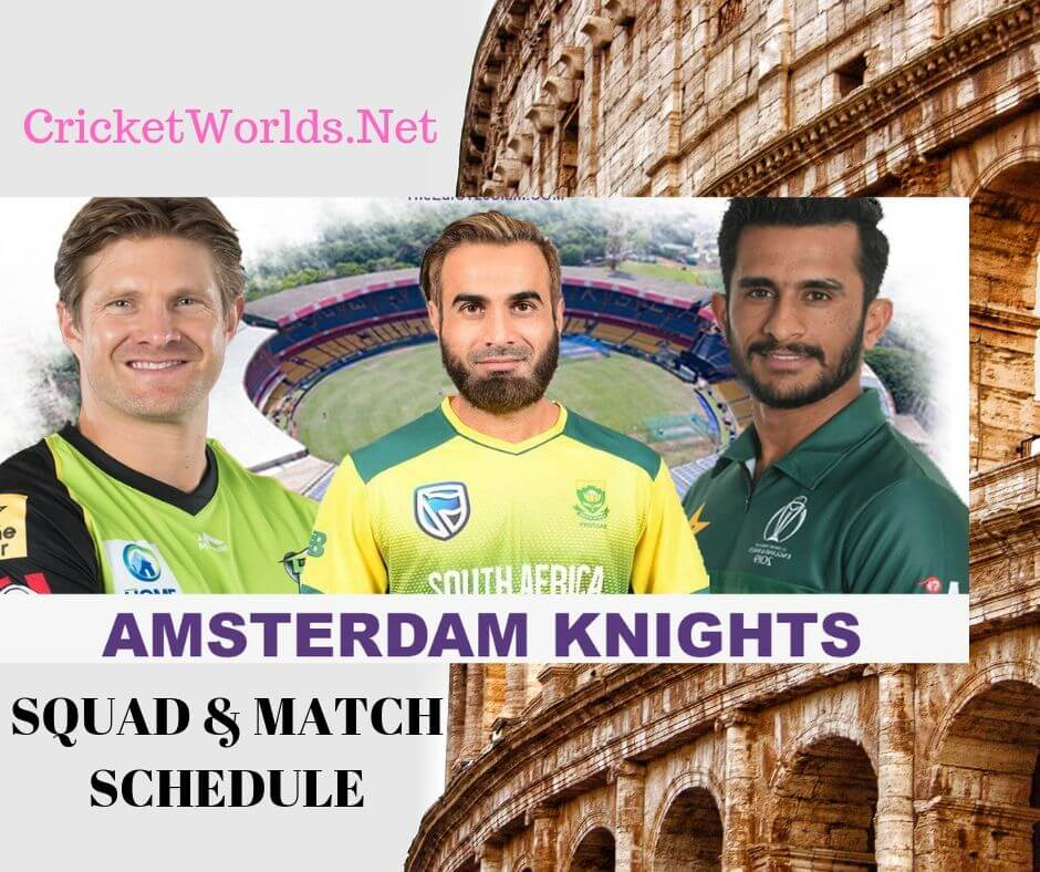 Amsterdam Knights Players List