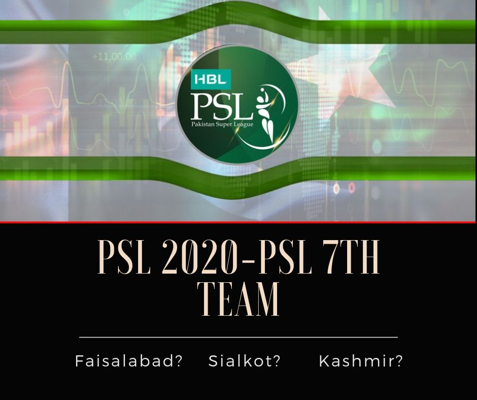 psl new team 2020