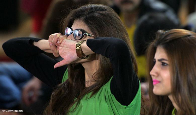 Pakistani cricket fans reaction
