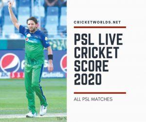 Check PSL Live Cricket Score 2020