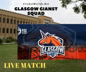 Glasgow Giants Squad