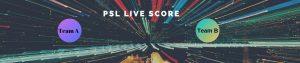 psl live cricket score