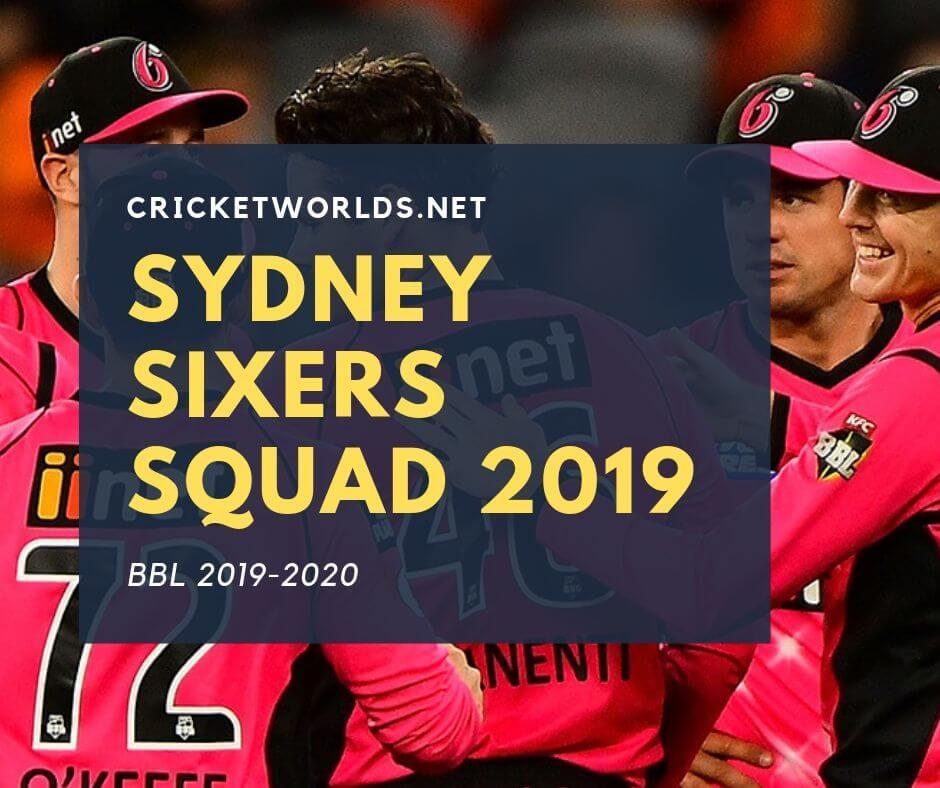 Sydney Sixers Squad