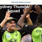 sydney thunder squad
