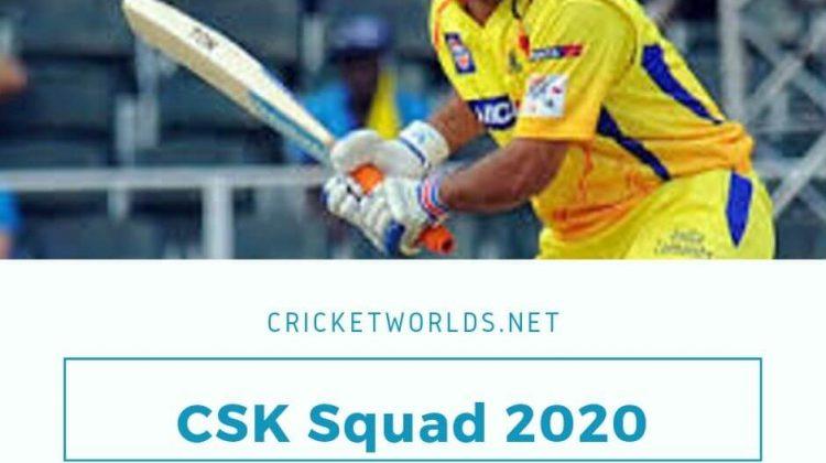 CSK Squad 2020