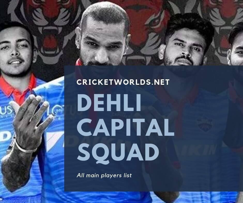 Dehli capital squad