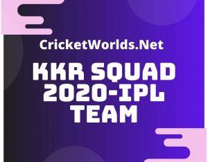 kkr team 2020 players list