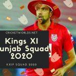kxip full squad 2020