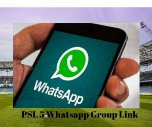 PSL 5 Whatsapp Group LinkPSL 5 Whatsapp Group Link