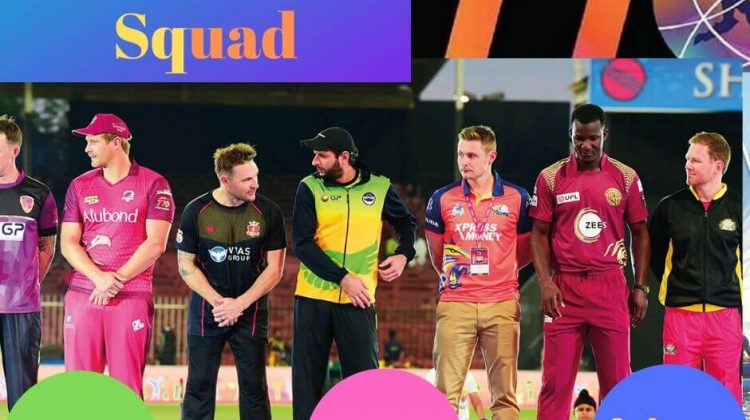 T 10 Cricket League Teams Squad [With All Players & Squad]