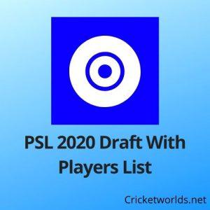 psl draft 2020