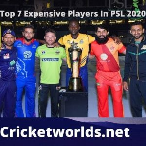 Top Paid PSL Players