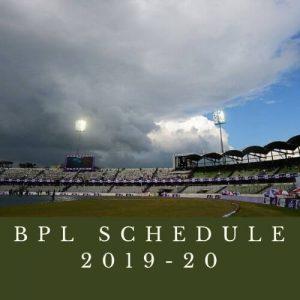 bpl schedule and fixtures