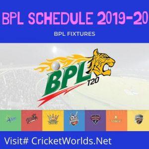 bpl 2019 fixtures