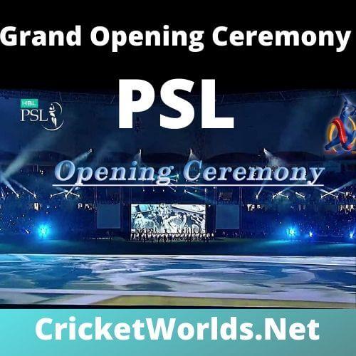 PSL Opening Ceremony 2020