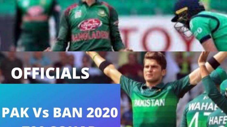 Ban Tour Pak Series 2020
