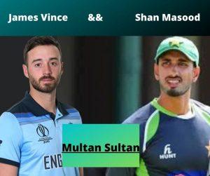 Multan Sultan opening Players
