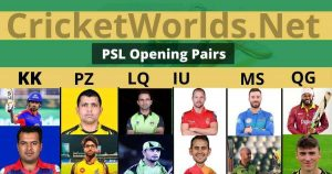 Best PSL 6 Opening Players 2021