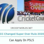 ICC Rule 2020 Apply On PSL5