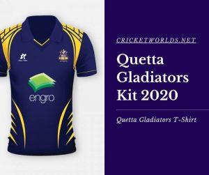 Quetta Gladiators Kit 2020