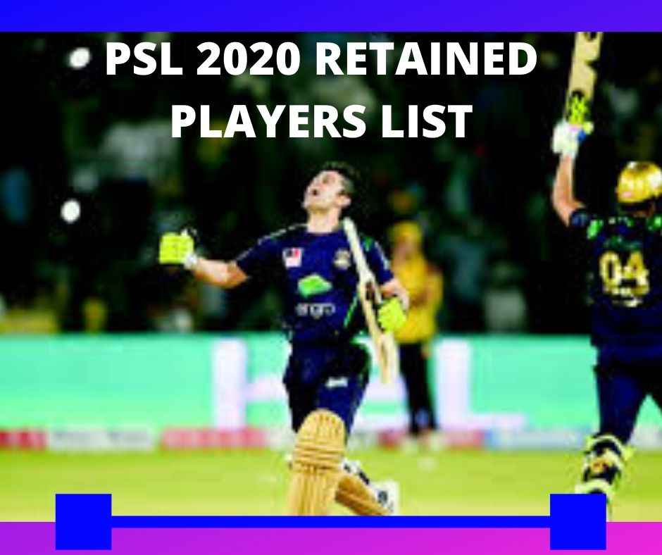 PSL 5 Retained players