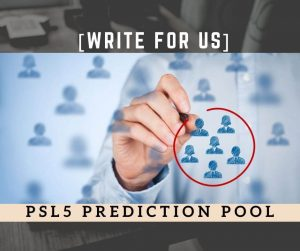 PSL2020 Prediction Pool