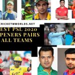 Best PSL 2020 Openers players
