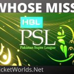 Which International Players Miss PSL5 [All Matches]