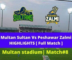 MS Vs PZ Highlights Full Match