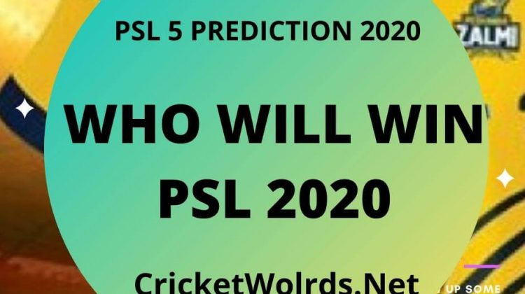 Who Will Win PSL5