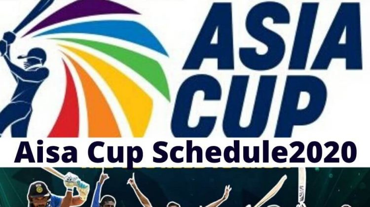 Aisa cup schedule 2020