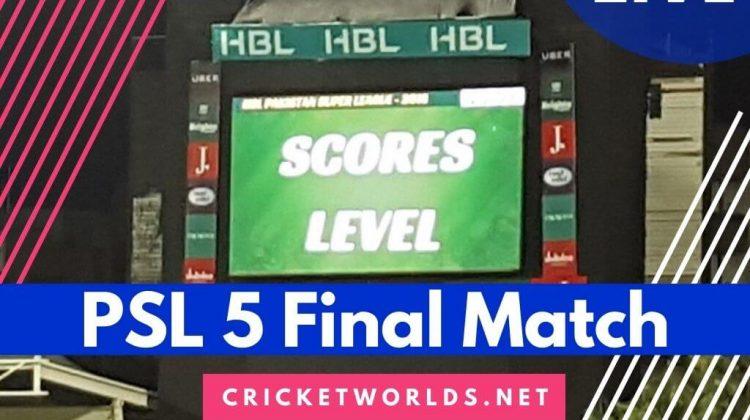 PSL 5 Final Match 2020