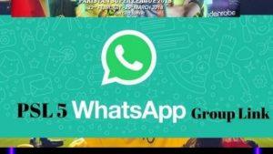PSL live score whatsapp group