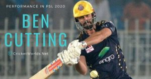 Ben Cutting psl performance