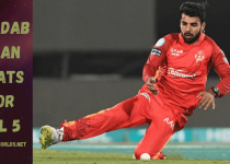 Shadab Khan Performance In PSL 2020