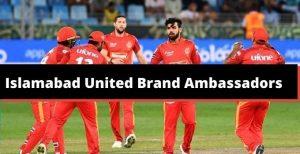 who is brand ambassadors of IU team\